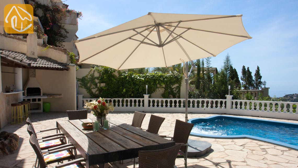 Holiday villas Costa Brava Spain - Villa Monroe - Terrace