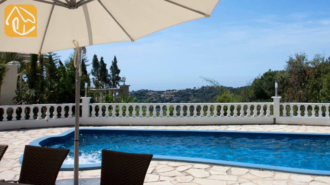 Holiday villas Costa Brava Spain - Villa Monroe - One of the views