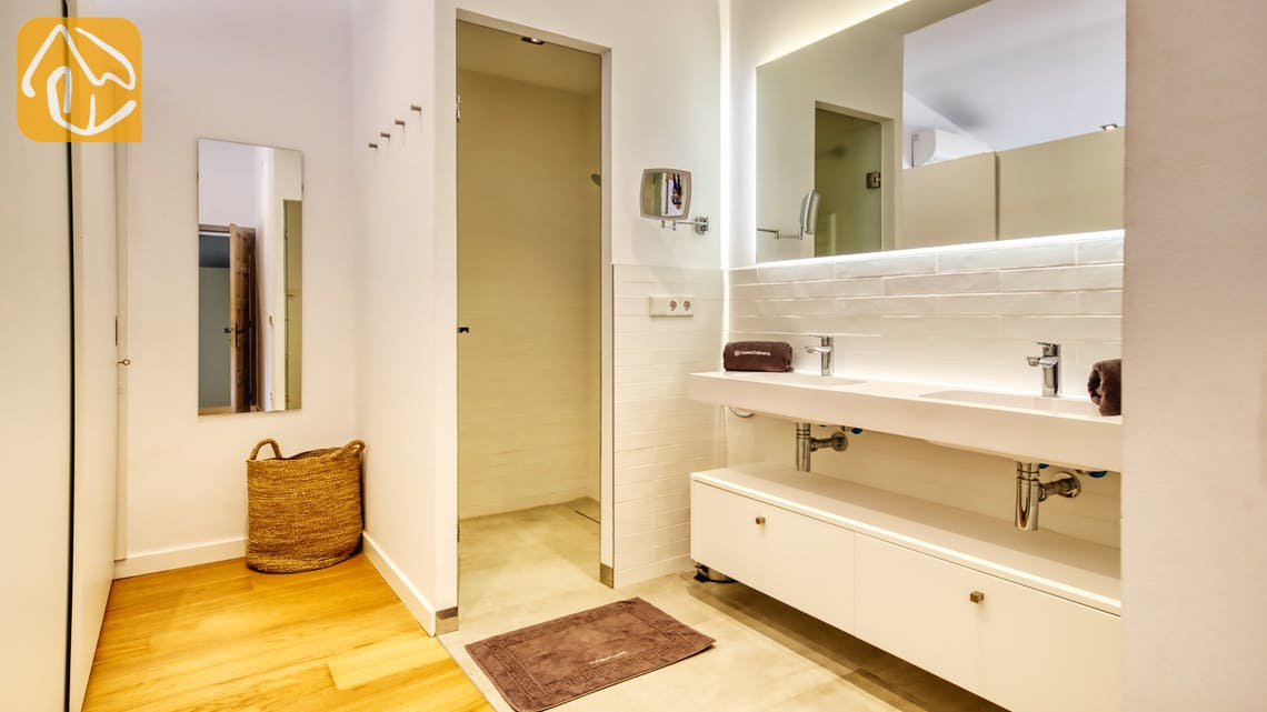 Villas de vacances Costa Brava Countryside Espagne - Villa Racoon - En-suite bathroom