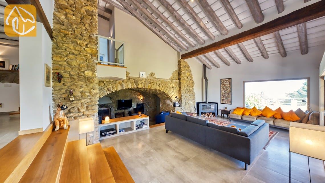 Holiday villas Costa Brava Countryside Spain - Villa Racoon - Living area