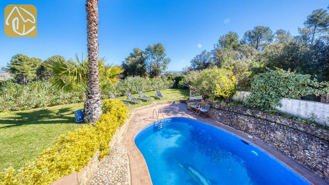 Holiday villas Costa Brava Countryside Spain - Villa Racoon - Swimming pool