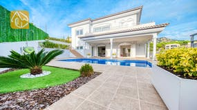 Holiday villa Costa Brava Spain - Villa Madison - Villa outside