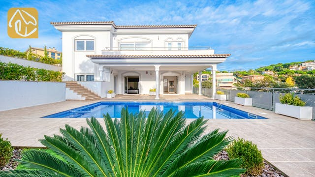 Casas de vacaciones Costa Brava España - Villa Madison - Piscina