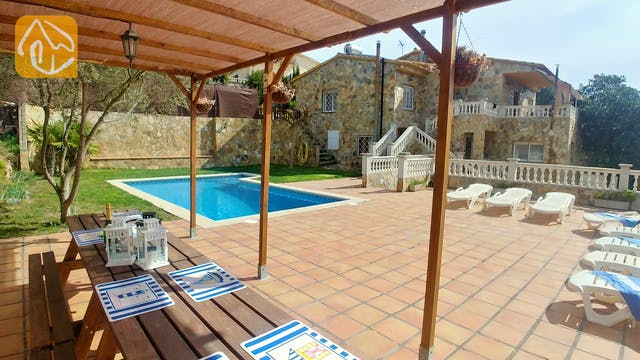 Holiday villas Costa Brava Spain - Villa Zarah - Swimming pool