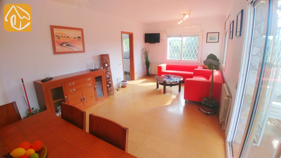 Holiday villas Costa Brava Spain - Villa Zarah - Living area