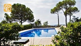 Casas de vacaciones Costa Brava España - Villa Tiara - Piscina