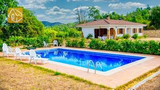 Ferienhäuser Costa Brava Spanien - Villa Tiara - Schwimmbad