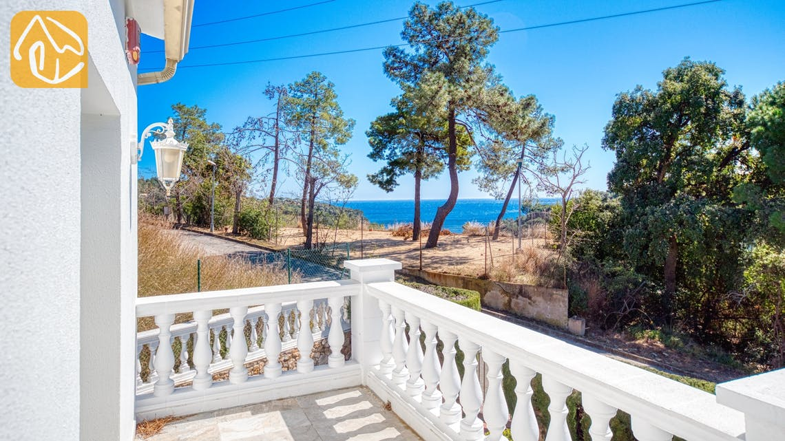 Holiday villas Costa Brava Spain - Villa Maxima - One of the views