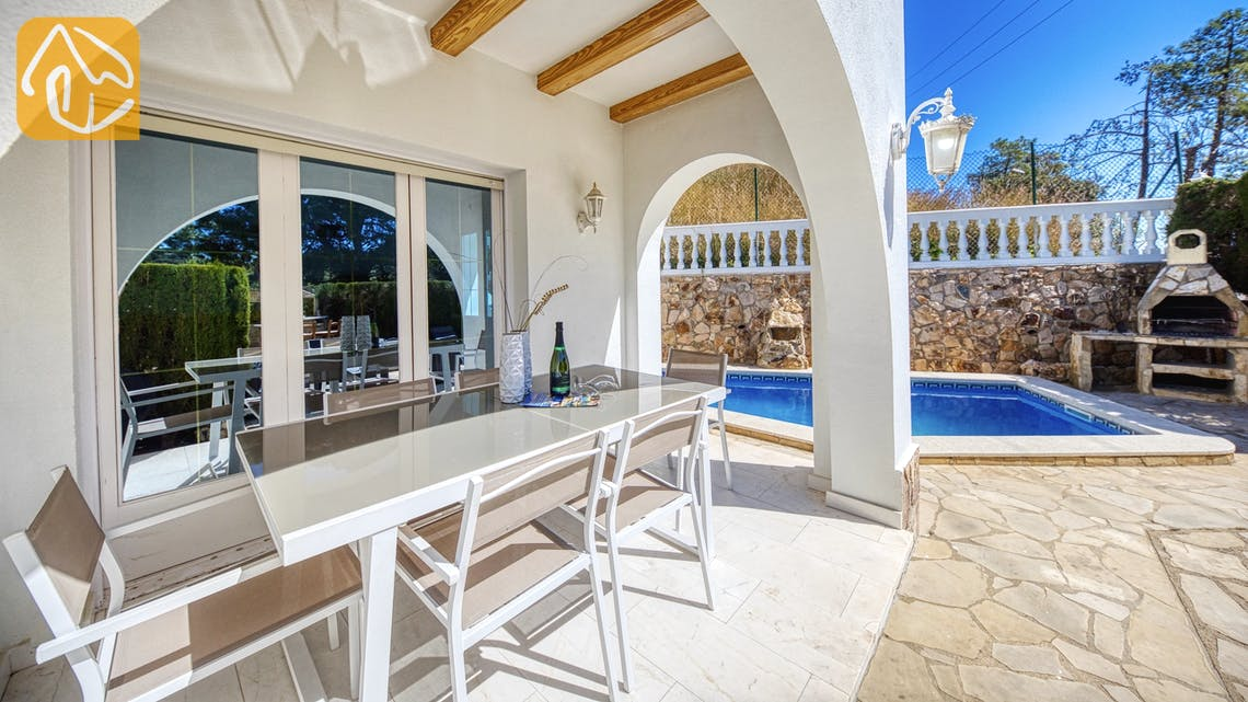 Holiday villas Costa Brava Spain - Villa Maxima - Terrace