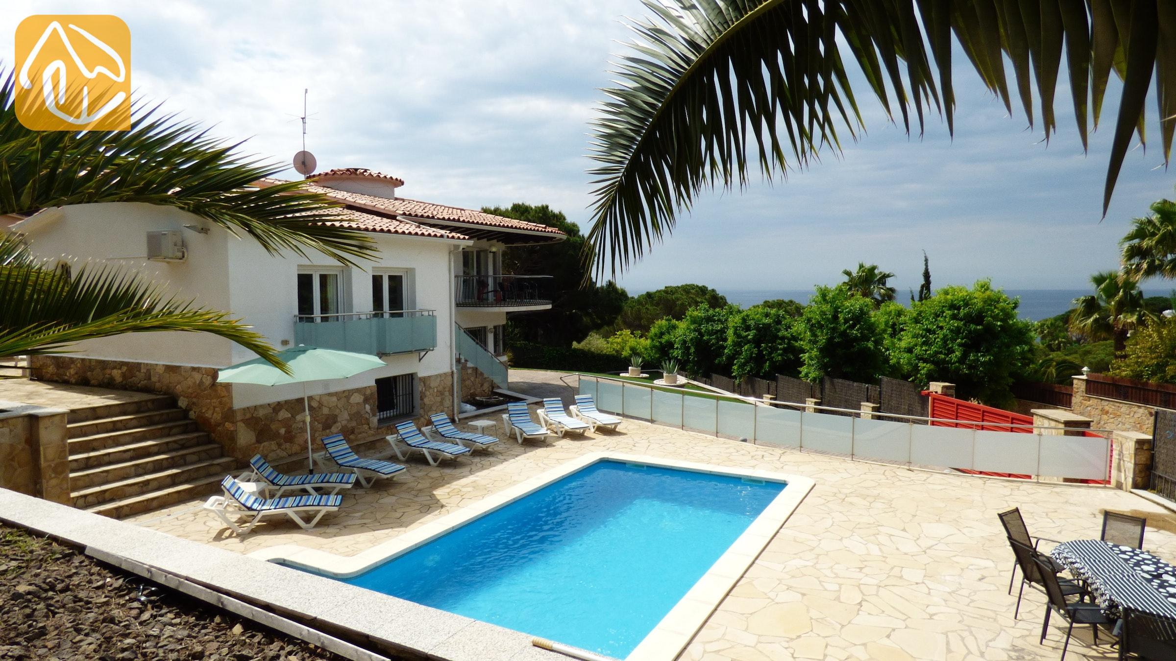 10 personas casa de vacaciones lloret de mar villa vivien - Casas alquiler costa brava ...