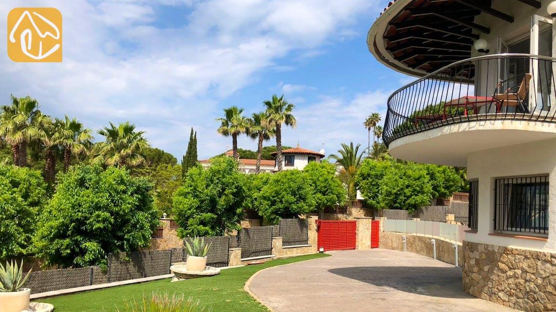 Holiday villas Costa Brava Spain - Villa Vivien - Villa outside