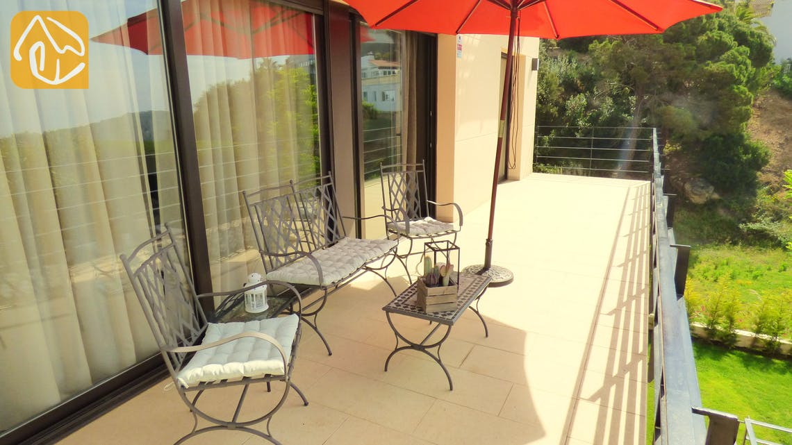 Casas de vacaciones Costa Brava España - Villa Dulcinea - Terraza