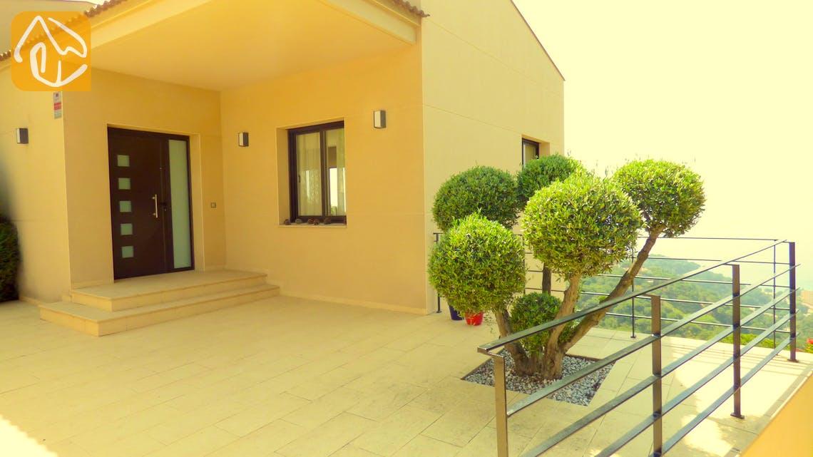Casas de vacaciones Costa Brava España - Villa Dulcinea - Entrance