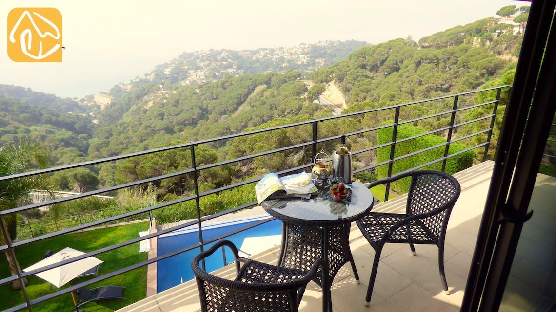 Ferienhäuser Costa Brava Spanien - Villa Dulcinea - Terrasse