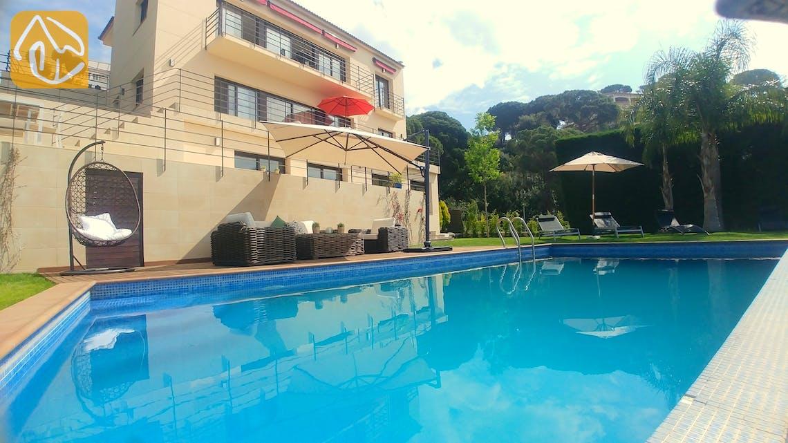 Casas de vacaciones Costa Brava España - Villa Dulcinea - Piscina
