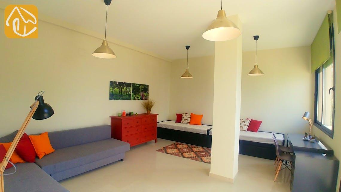 Casas de vacaciones Costa Brava España - Villa Dulcinea - Dormitorio