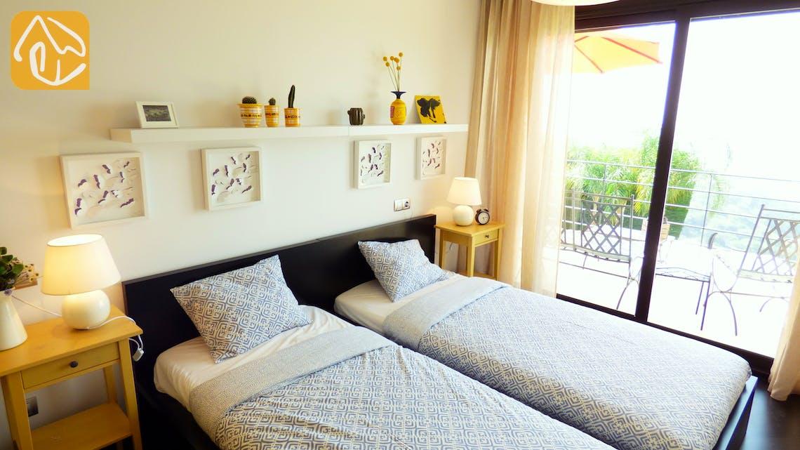 Ferienhäuser Costa Brava Spanien - Villa Dulcinea - Schlafzimmer