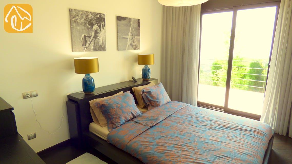 Casas de vacaciones Costa Brava España - Villa Dulcinea - Dormitorio principal