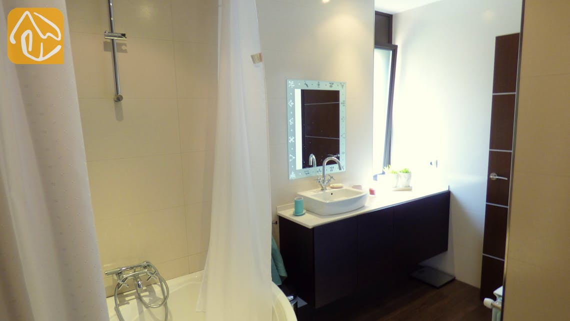 Ferienhäuser Costa Brava Spanien - Villa Dulcinea - En-suite bathroom