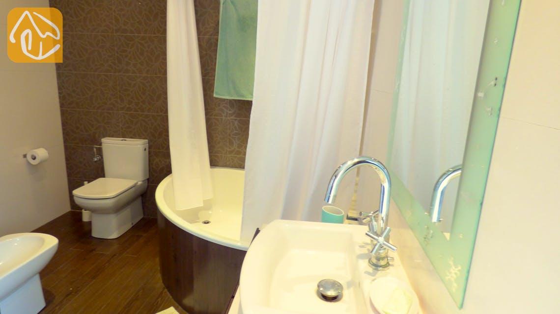 Casas de vacaciones Costa Brava España - Villa Dulcinea - En-suite bathroom