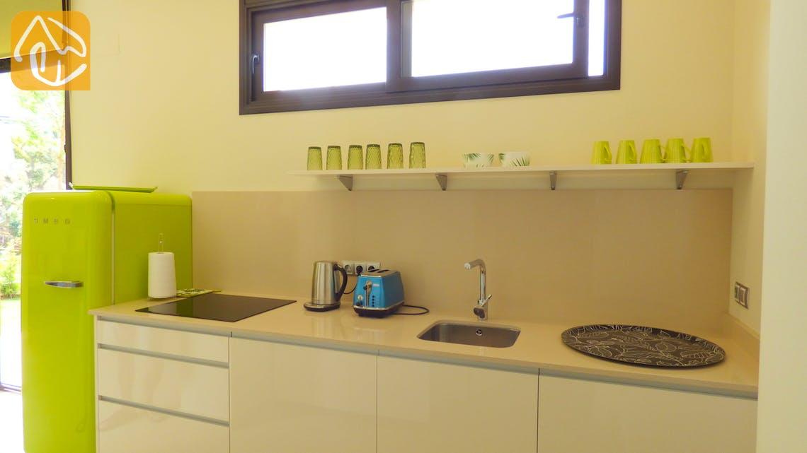 Ferienhäuser Costa Brava Spanien - Villa Dulcinea - Additional kitchen