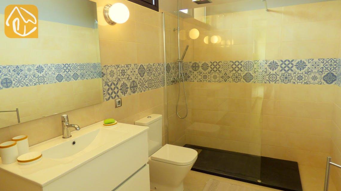 Ferienhäuser Costa Brava Spanien - Villa Dulcinea - Badezimmer