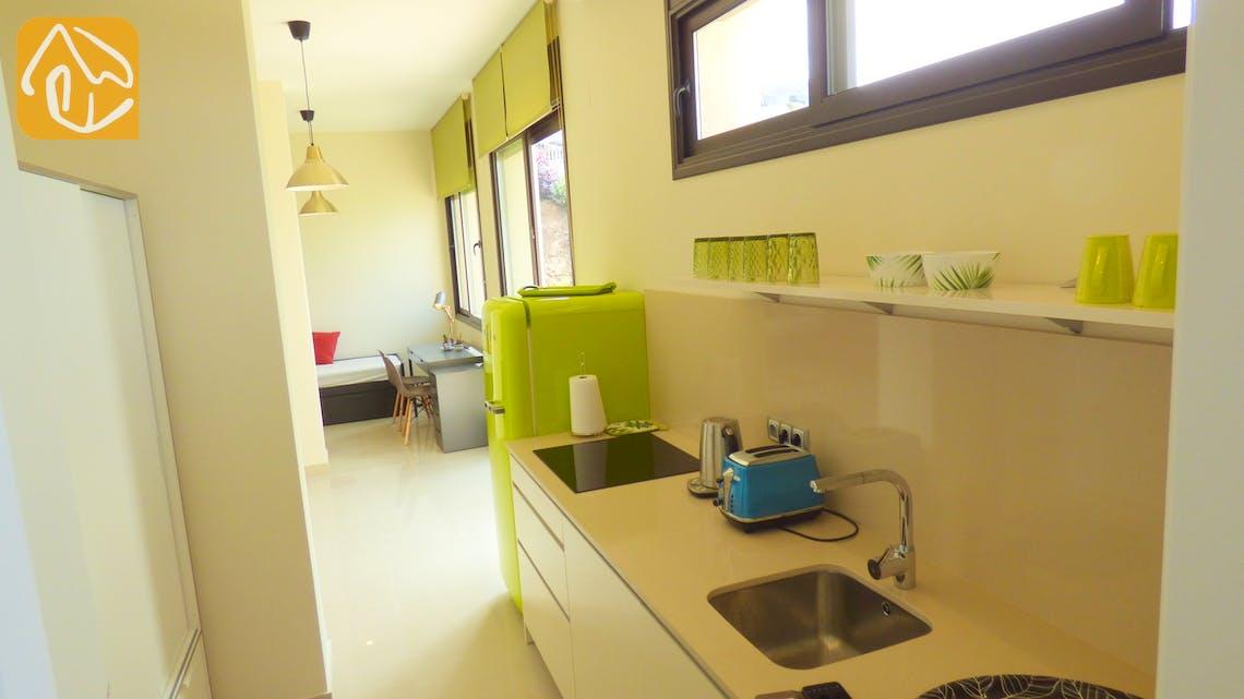 Casas de vacaciones Costa Brava España - Villa Dulcinea - Additional kitchen