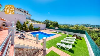 Holiday villas Costa Brava Spain - Villa Dominique - Villa outside