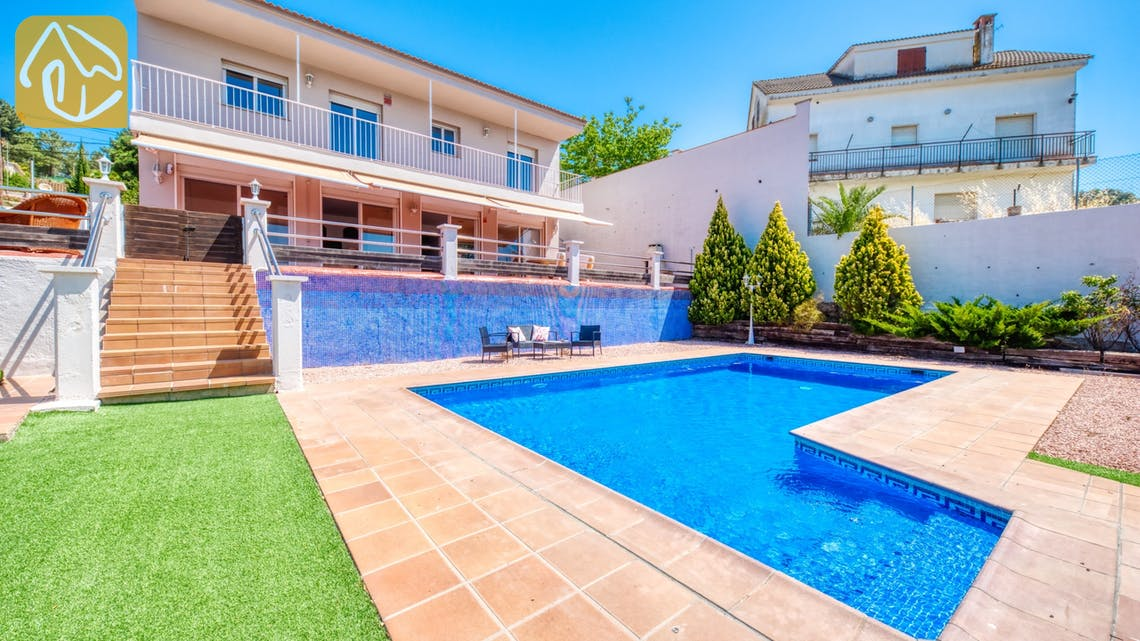 Ferienhäuser Costa Brava Spanien - Villa Dominique - Schwimmbad