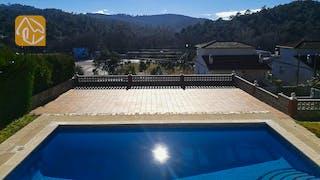 Casas de vacaciones Costa Brava España - Villa Cristal - Piscina