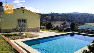 Ferienhäuser Costa Brava Spanien - Villa Minta - Villa Außenbereich