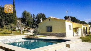 Casas de vacaciones Costa Brava España - Villa Minta - Piscina