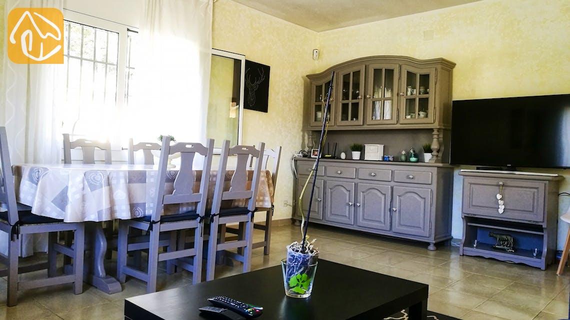 Ferienhäuser Costa Brava Spanien - Villa Minta - Essbereich