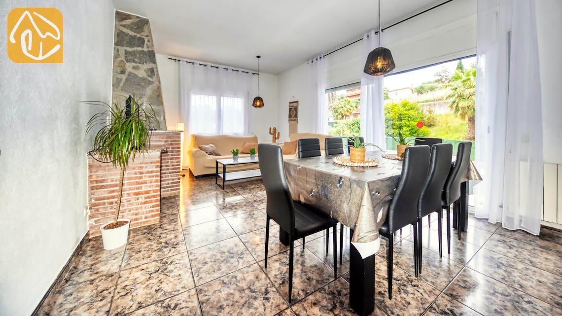 Ferienhäuser Costa Brava Spanien - Villa Zarita - Wohnbereich