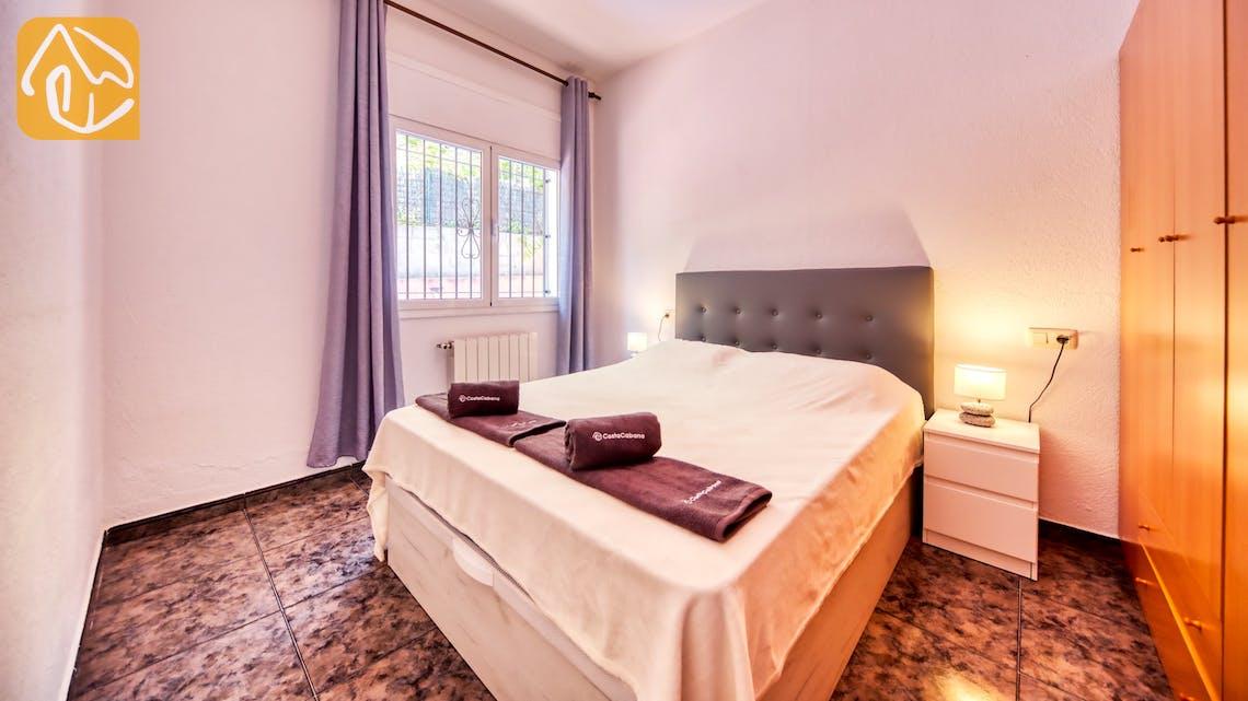 Ferienhäuser Costa Brava Spanien - Villa Zarita - Schlafzimmer