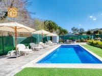 Ferienhäuser Costa Brava Spanien - Villa Pilarillo - Villa Außenbereich