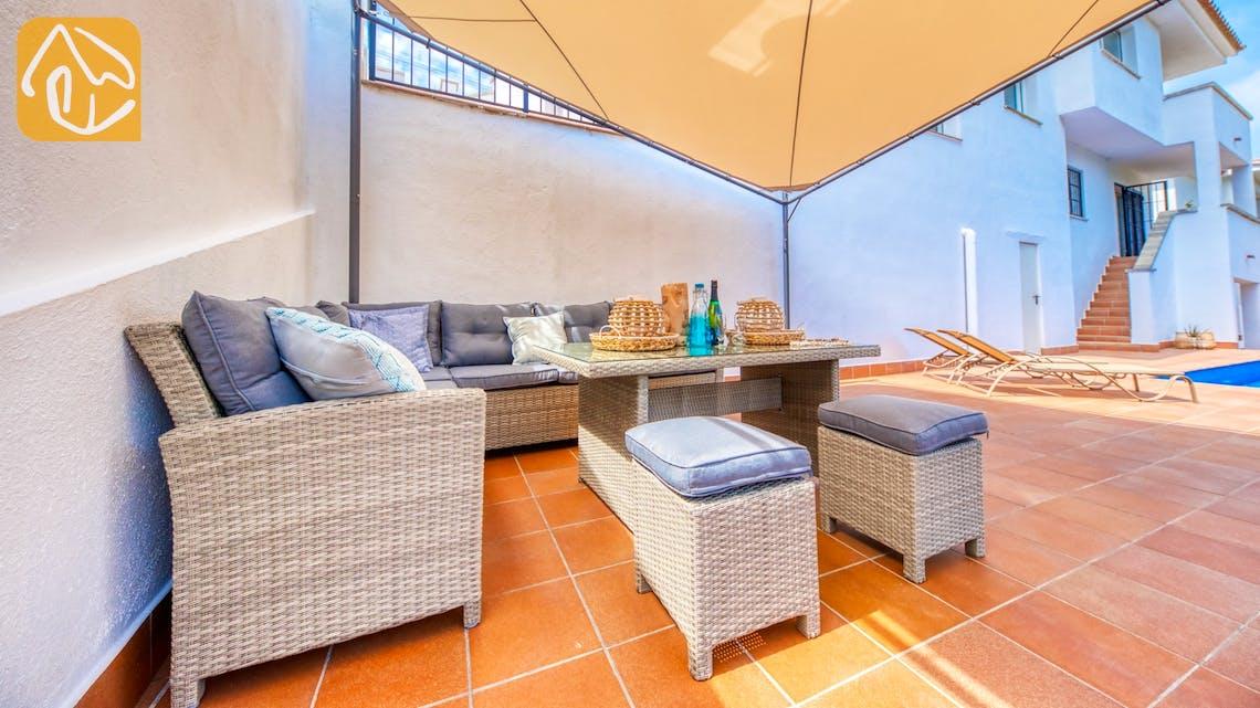Casas de vacaciones Costa Brava España - Villa Amora - Sala de estar
