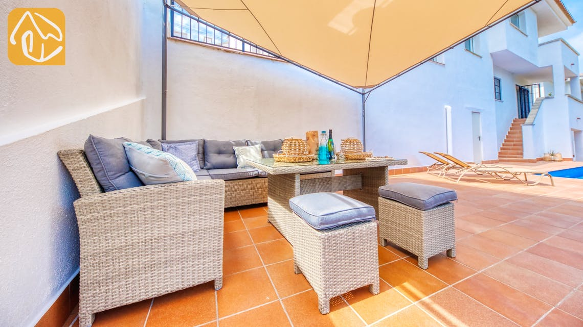 Holiday villas Costa Brava Spain - Villa Amora - Lounge area