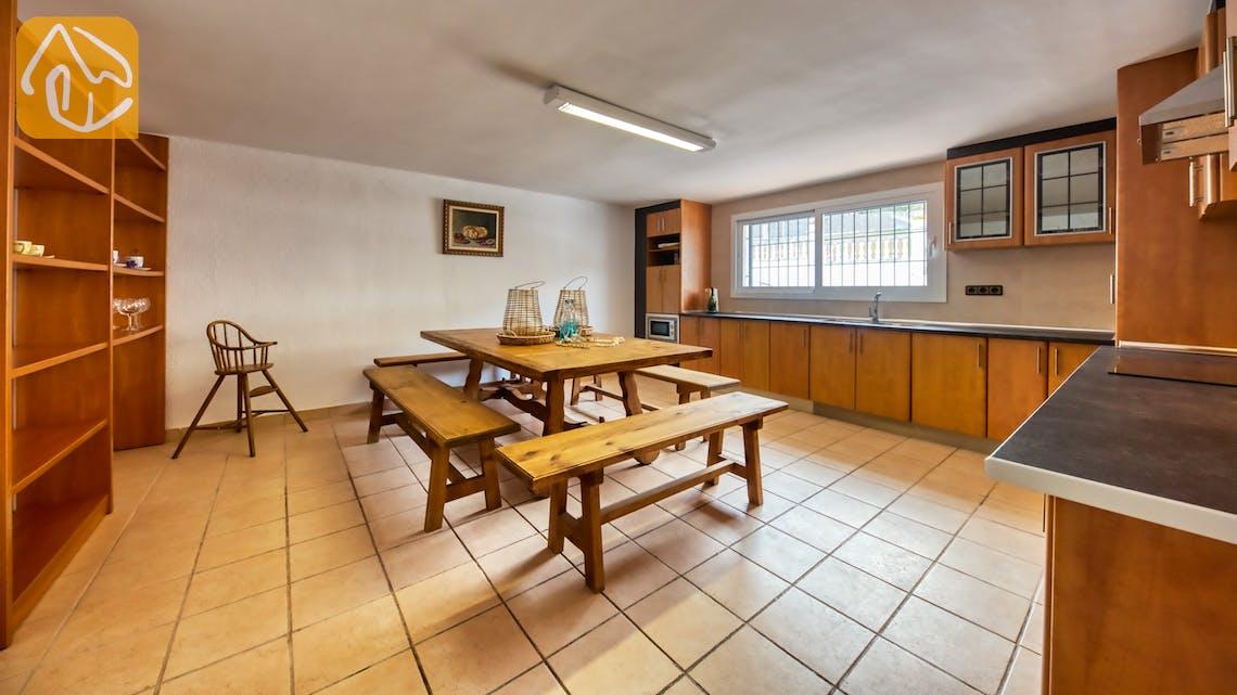 Vakantiehuizen Costa Brava Spanje - Villa Amora - Keuken