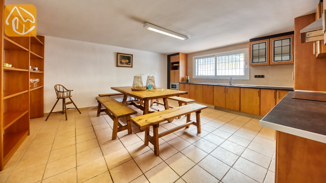Villas de vacances Costa Brava Espagne - Villa Amora - Cuisine