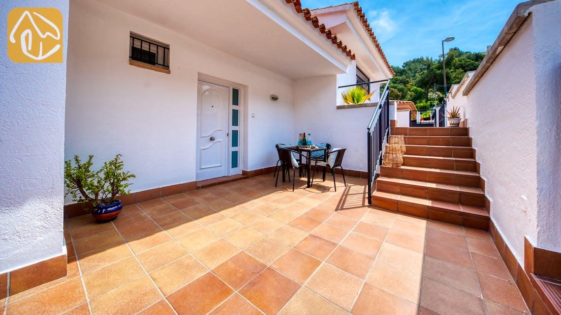 Casas de vacaciones Costa Brava España - Villa Amora - Afuera de la casa