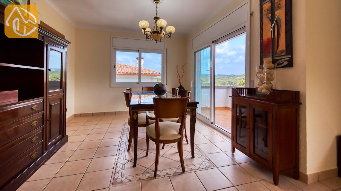 Casas de vacaciones Costa Brava España - Villa Amora - Zona de comer