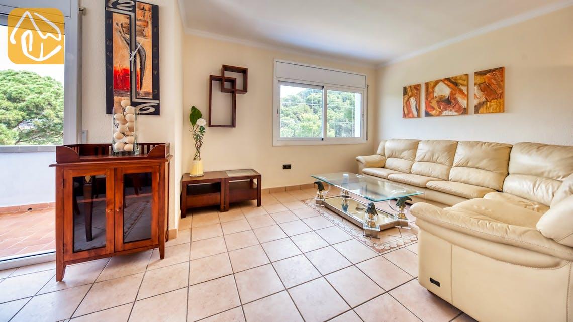 Holiday villas Costa Brava Spain - Villa Amora - Living area
