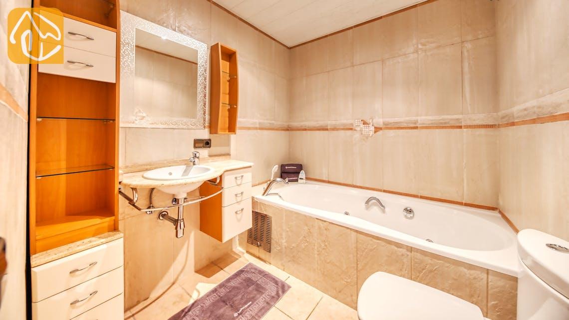Vakantiehuizen Costa Brava Spanje - Villa Amora - Badkamer