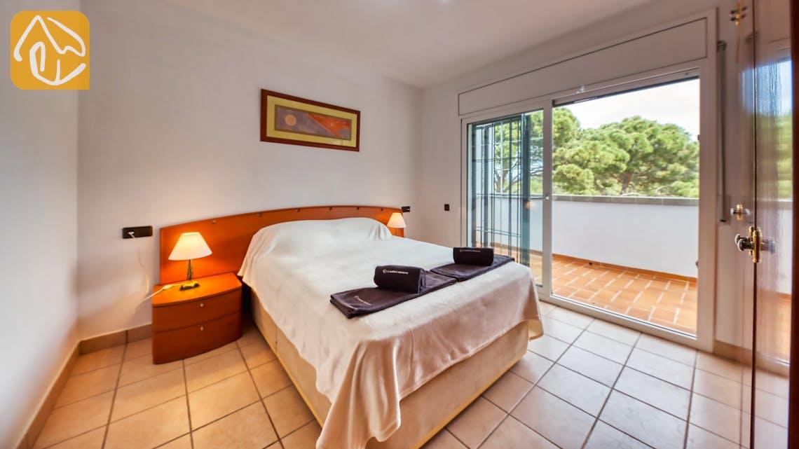 Casas de vacaciones Costa Brava España - Villa Amora - Dormitorio