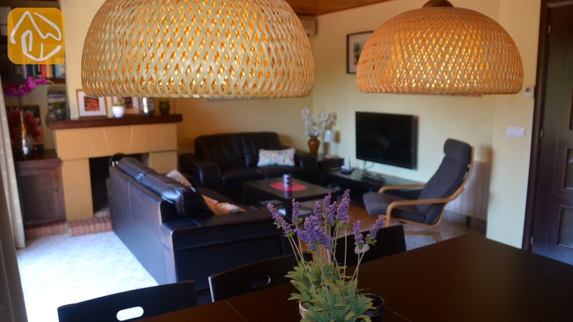Holiday villas Costa Brava Spain - Villa Whitney - Living room