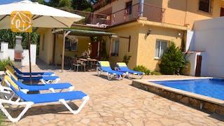 Casas de vacaciones Costa Brava España - Villa Whitney - Terraza