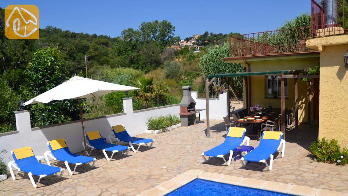 Holiday villas Costa Brava Spain - Villa Whitney - Terrace
