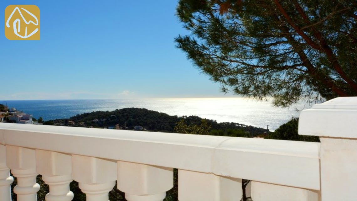 Ferienhäuser Costa Brava Spanien - Villa Monte Carlo - Eine der Aussichten
