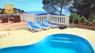 Ferienhäuser Costa Brava Spanien - Villa Monte Carlo - Schwimmbad
